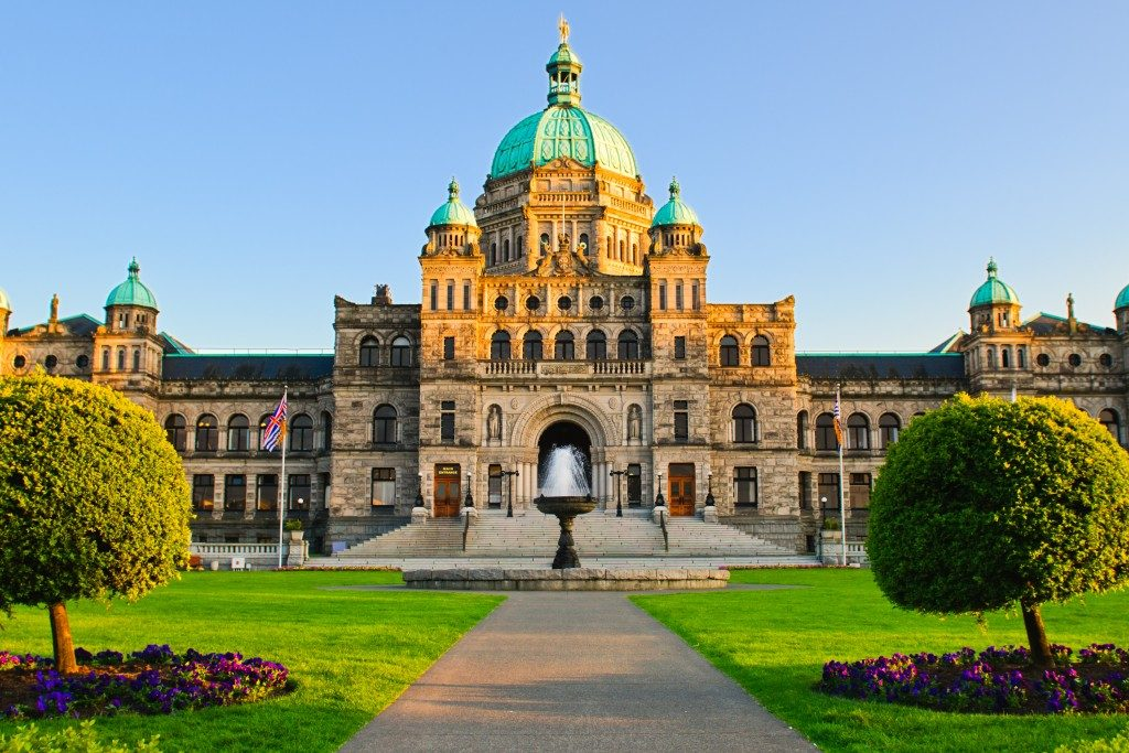 parliament buildings, victoria, legislative, inner harbour